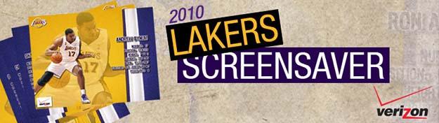 Los Angeles Lakers Screensaver