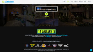 Just Finished a Cool Website for My Company, 11 Gallery, LLC